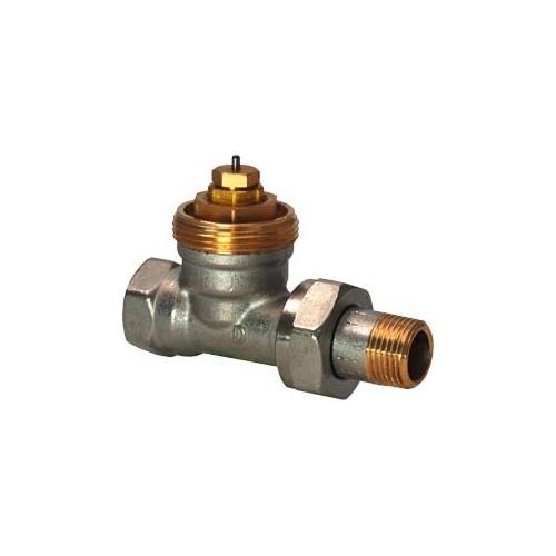 Радиаторный клапан, 2-х ходовой,PN10, DN10, kvs 0.09..0.63 VEN210