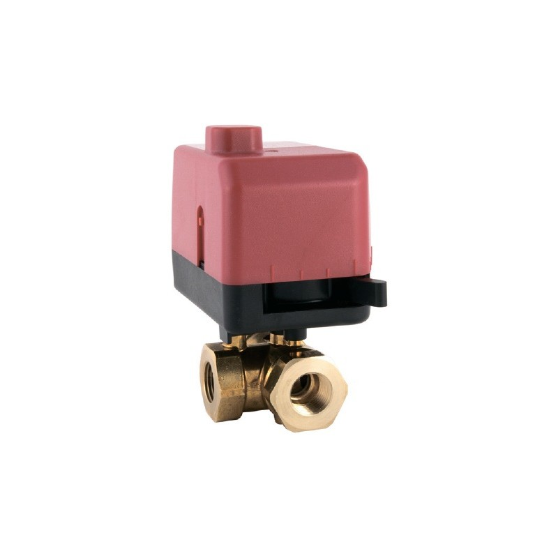 Клапан двухходовой полнопроходной DN-20 Kvs-8.7 VB200R-20BS 8.7T 00
