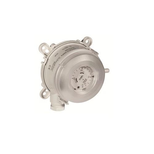 Датчик-реле перепада давления по воздуху  Диапазон срабатывания от 20 до 300 Па SPD910-300Pa