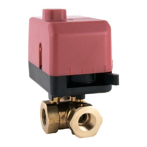 Клапан трехходовой полнопроходной DN-15 Kvs-8.7 VB300R-15BS 8.7T 00