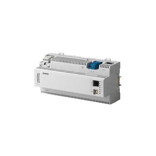 Станция автоматизации до 200 точек данных, Island шиной, коммуникацией BACnet/LonTalk. PXC100.D