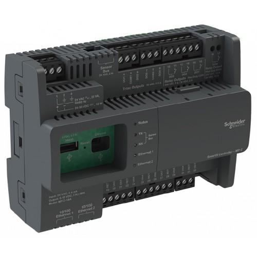 Контроллер MP-C-18A, 10xUIOb 1xDOh 3xDOr 4xDOt 2xEth BACnetIP 24В