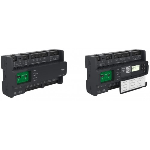 Контроллер SmartX AS-B-24, 24точки,2xEth,RS-485,Bacnet,Modbus,USB,web