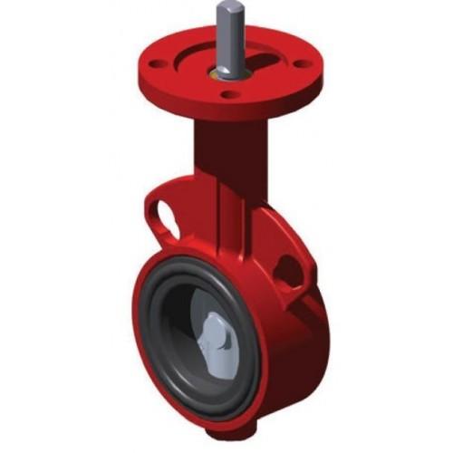Клапан дисковый поворотный VF209W-100CN, DN100, Kvs723, dP 1200кПа