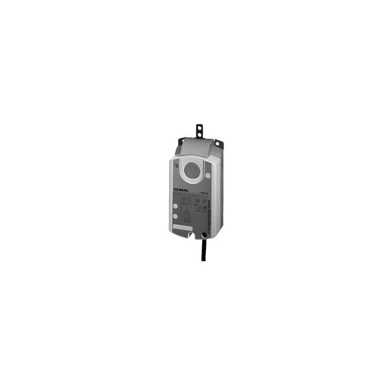 Привод воздушной заслонки, линейный, 125 N,  3-поз., AC 230V GDB331.2E