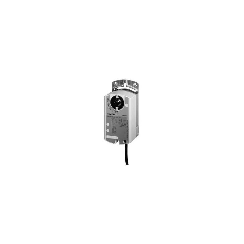 Привод воздушной заслонки, поворотный, 10 Nm, DС 0…10V, настраиваемый, AC 24V GLB164.1E