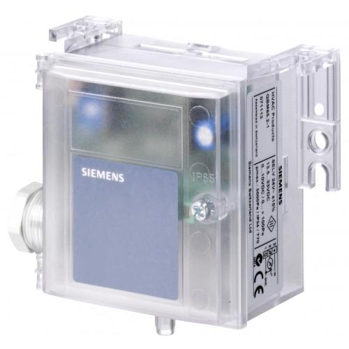 Датчик перепада давления, 0…10 V DC, 0...2500 Pa QBM3020-25D