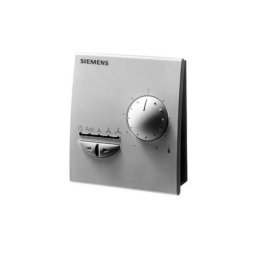 Комнатный модульс задающим устройством, переключателем режимов и скоростей вентилятора QAX33.1