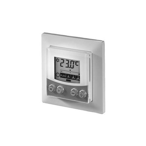 Комнатное устройство, в собранном виде, крепящееся заподлицо с интерфейсом PPS2, в белом корпусе Siemmens QAX84.1/PPS2