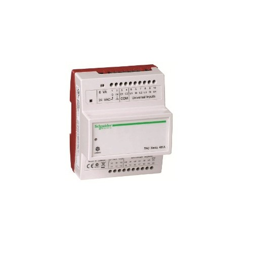 Модуль расширения с универсальными входами и аналоговыми выходами. Электронная часть. TAC Xenta 451А