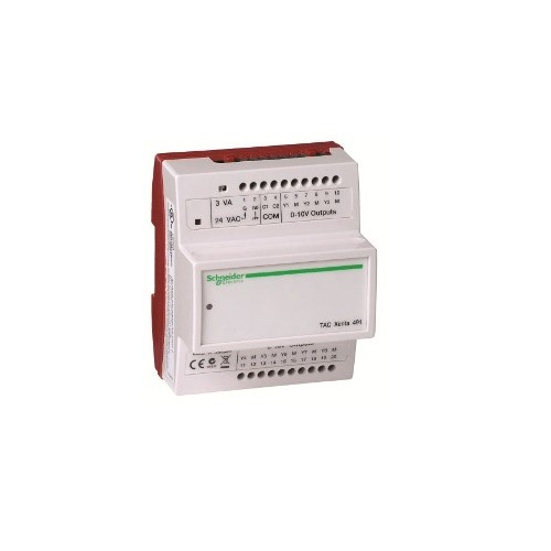 Модуль расширения с аналоговыми выходами Электронная часть TAC Xenta 491