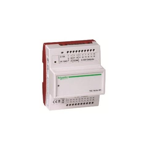 Модуль расширения с аналоговыми выходами с дополнительными переключателями для выходов Электронная часть TAC Xenta 492