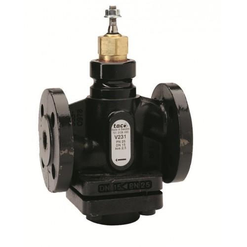 Клапан 2-ходовой фланцевый PN25 DN-15 Kvs-0,4 V231-15-0,4