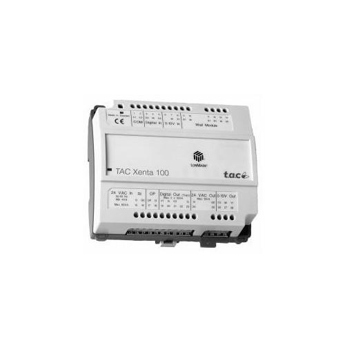 Контроллер зональный универсальный.Питание 24В АС TAC Xenta 110-D/24