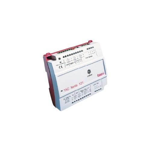 Контроллер зональный для фэнкойлов.Питание 24В AC TAC Xenta 121-FC/24