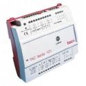 Контроллер зональный для тепловых насосов.Питание 24В АС TAC Xenta 121-HP/24