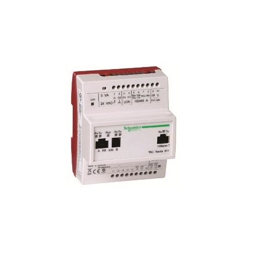 Контроллер: аппаратный web-сервер.Электронная часть TAC Xenta 511