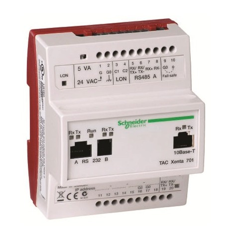 Многофункциональный программируемый контроллер. Электронная часть. TAC Xenta 711