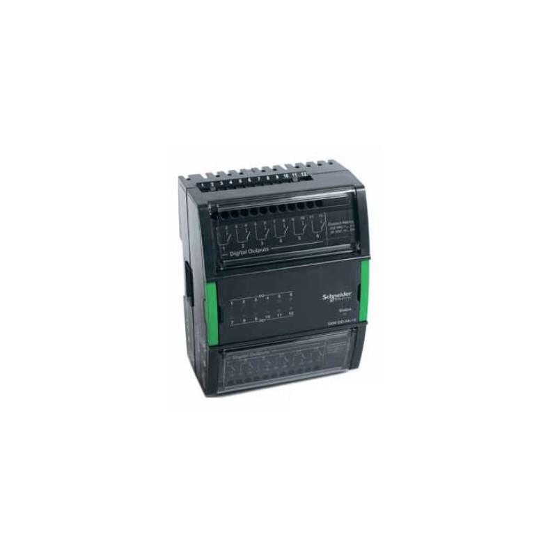 Модуль на 12 дискретных выходов с дополнительными переключателями