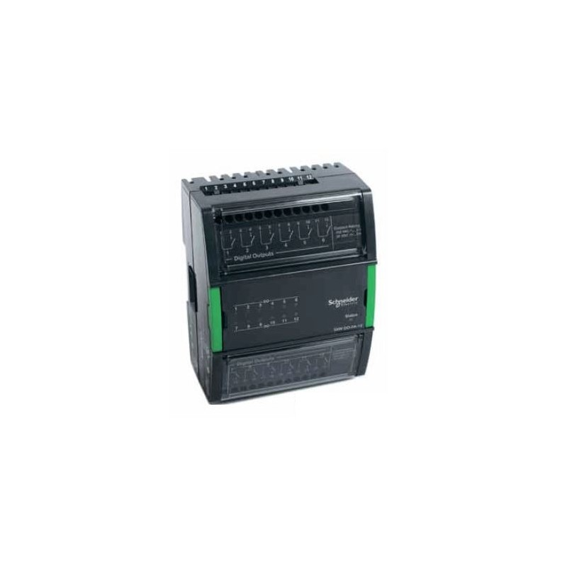 Модуль на 8 дискретных выходов с дополнительными переключателями