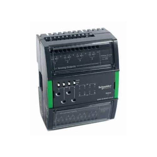 Модуль на 8 универсальных входов и 4 аналоговых выхода. UI-8/AO-V-4-H