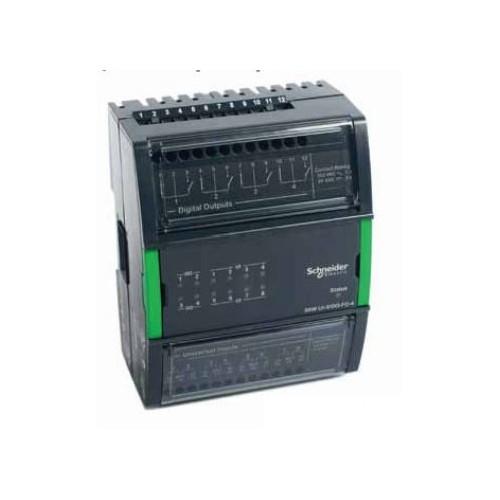 Модуль на 8 универсальных входов и 4 дискретных выхода UI-8/DO-FC-4