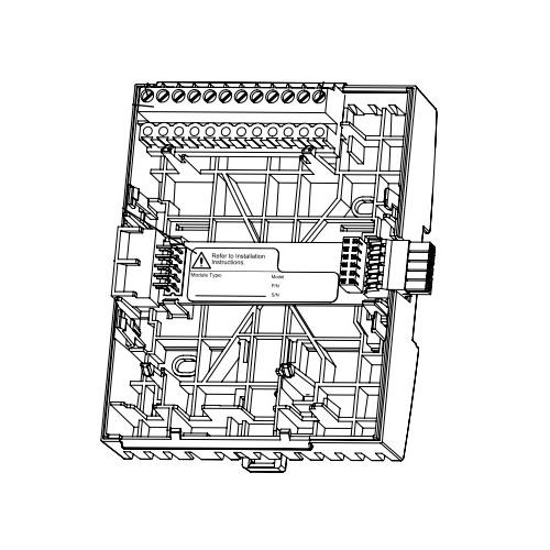 Терминальный блок для сервера автоматизации TB-AS-W1