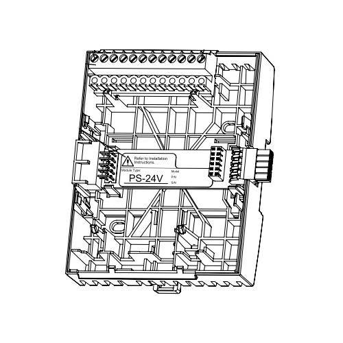 Терминальный блок для источника питания TB-PS-W1
