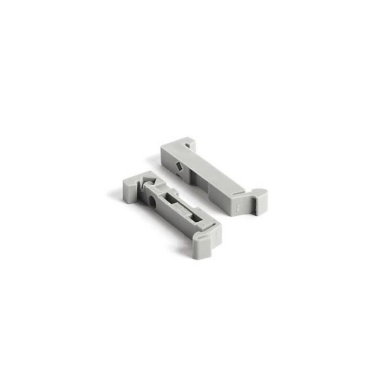 Фиксаторы ряда стандарта DIN (25 шт.) DIN-Rail End Clip