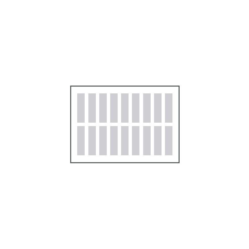 Маркировочные плстины Term Lbl printout sht, W1, Ltr