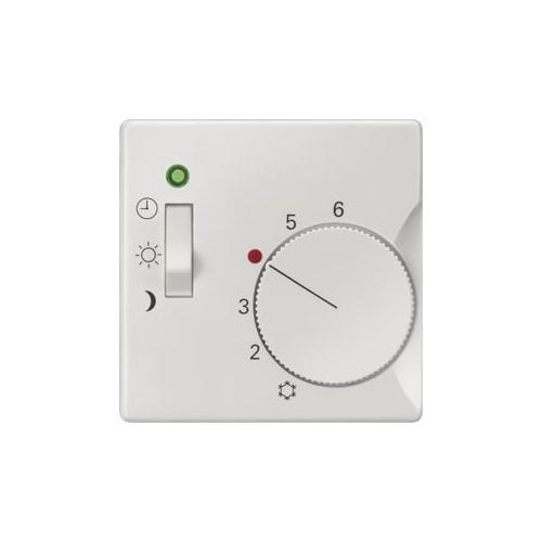 Накладка терморегулятора, DELTA i-system, для терморегуляторов SYS, с переключателем на 3 режима, титановобелый 5TC9223