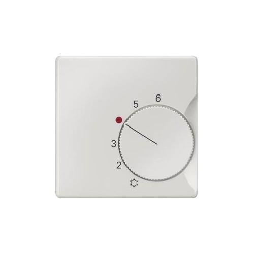 Накладка терморегулятора, DELTA i-system, для терморегуляторов SYS, титановобелый 5TC9221
