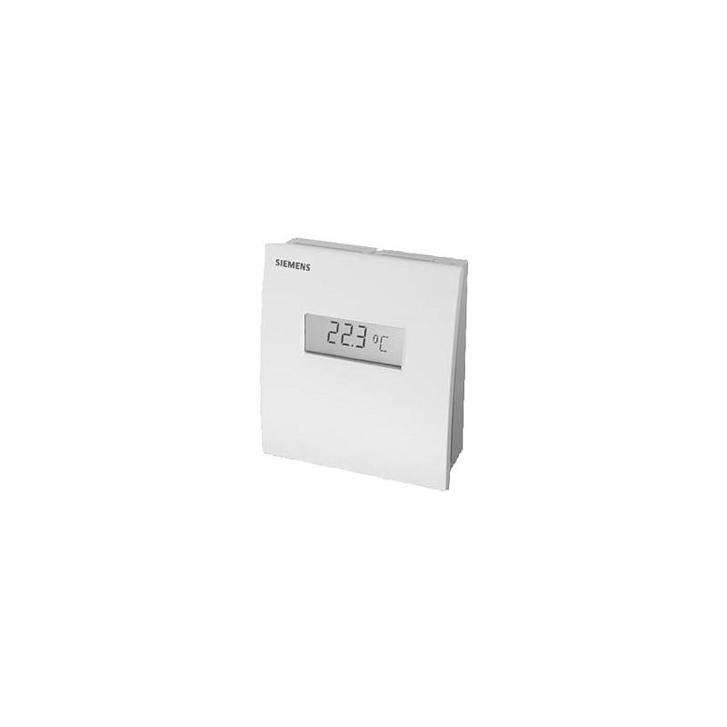 Датчик температуры комнатный, 4…20 мA, 0…+50 ?С QAA2071