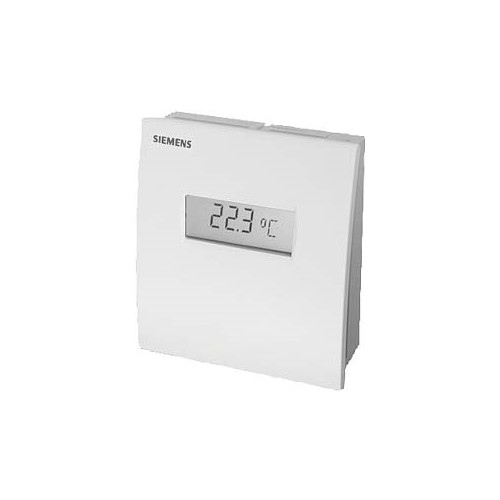 Датчик температуры комнатный,LG-Ni 1000, 0…+50 ?С, с регулятором уставки 5…30 ?С QAA26