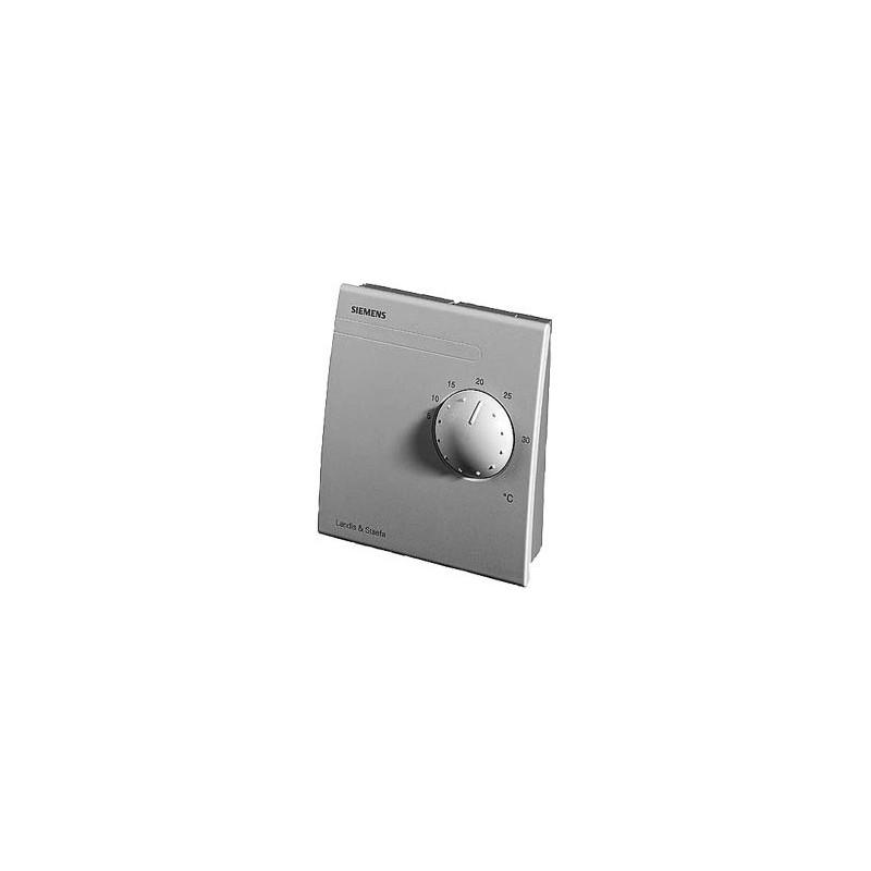 Датчик температуры комнатный,LG-Ni 1000, 0…+50 ?С, с регулятором уставки 5…35 ?С