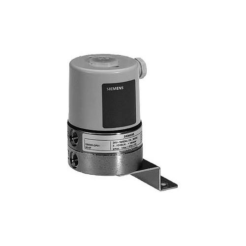 Датчик дифференциального давленияжидкостей /газов, DC0…10V, 0…20бар QBE63-DP02