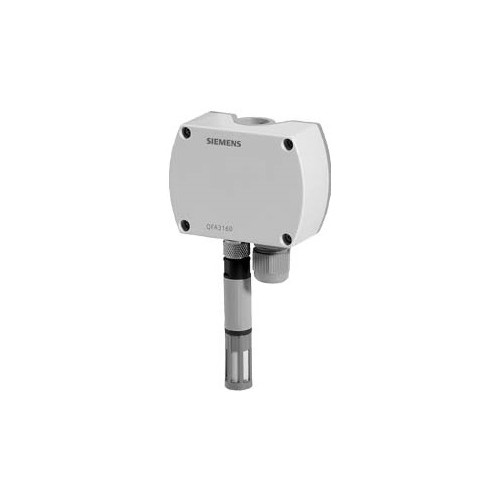 Датчик влажности и температуры комнатный, DC0…10V, 0…100%, -40…+70 ?C QFA3160
