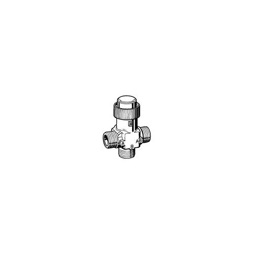 Клапан 3-ходовой зональный PN16 DN-15 Kvs-0,25 VZ32 G1/2-0,25
