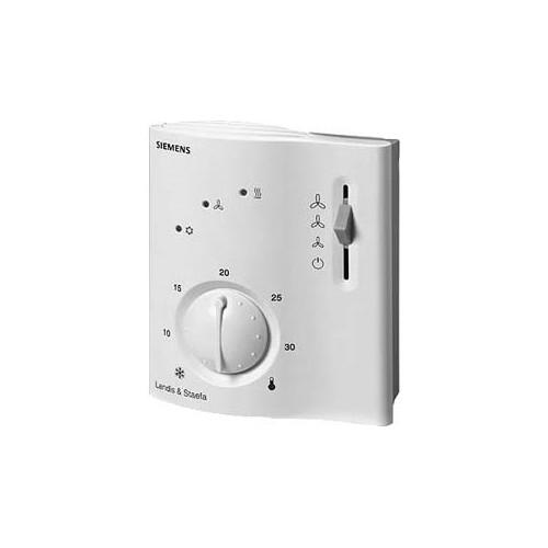 RCC20 - Электронные контроллеры комнатной температуры для 2-трубных фэнкойлов с электрокалорифером RCC20