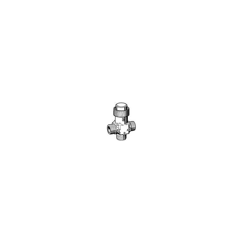 Клапан 3-ходовой зональный PN16 DN-20 Kvs-2,5 VZ32 G3/4-2,5