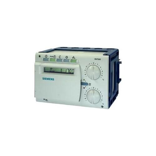 RVP361 Контроллер отопления для двух контуров отопления, управления ГВС и котлом (без коммуникации), АС 230 V RVP361