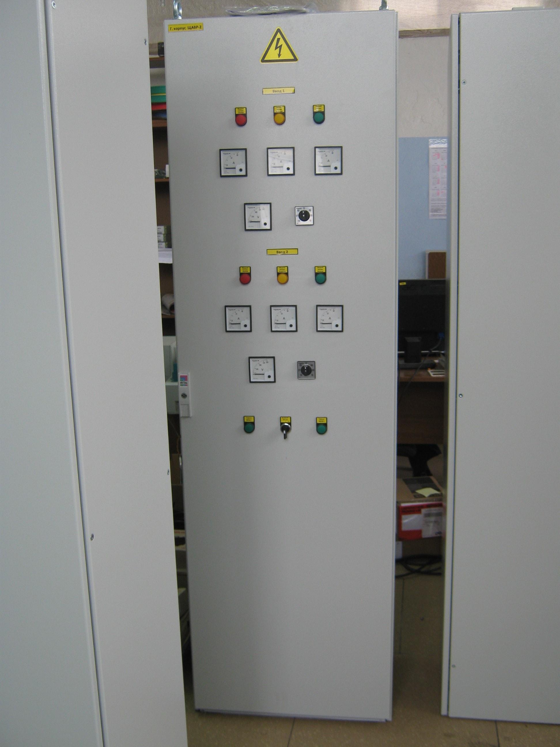 Сборка щитов распределения на небольших узлах от компании А-климат в Москве